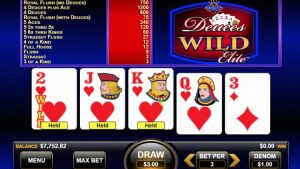 Video poker real money – your best gambling choice to play and win